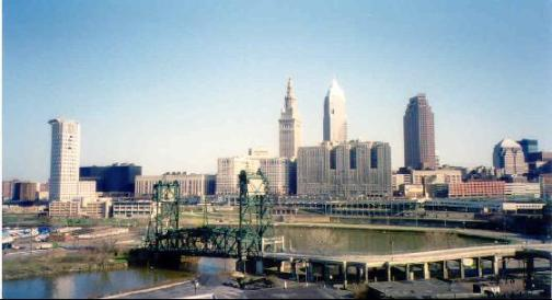 Cleveland: great view