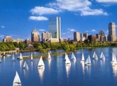 Beautiful view of Boston