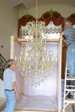 Chandelier movers