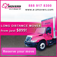 Long distance moves to and from Florida